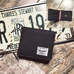 herschel wallet / coin wallet  / canvas wallet