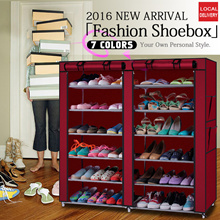 Shoe rack cover 6 stack * 2 / shoe rack Good Quality Water Proof Protect from Dust Durable Fast Del