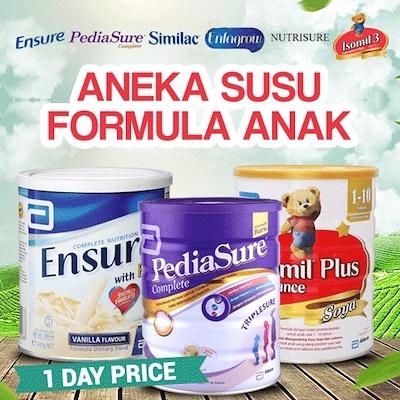 Ensure vanila / Coklat 1000gram / Aneka Susu Formula Anak Deals for only Rp275.000 instead of Rp275.000