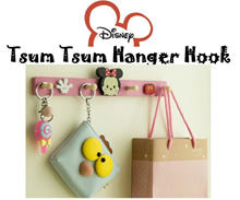 ❤ Christmas Day ❤ 4 Hooks Disney/Hello Kitty/Line Mr Brown/Totoro Hanger Hook ❤