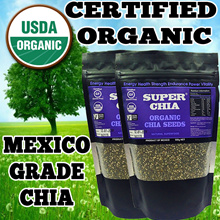[FRESH STOCKS] ★GUARANTEED HIGHEST QUALITY IN QOO10★ USDA Certified Organic Chia Seeds