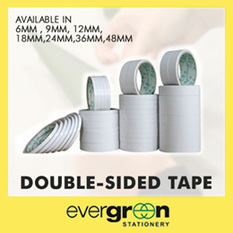 Double Side Tape 6mm 9mm 12mm 18mm 24mm 36mm 48mm