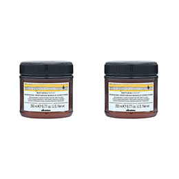 2Pcs Davines Vegetarian Miracle Conditioner (For Dry and Brittle Hair) 8.45oz 250ml