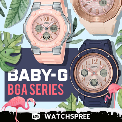 ce36a627ada1  APPLY 25% OFF COUPON  CASIO BABY-G BGA SERIES! Free Shipping and 1 Year  Warranty!