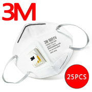 [HAZE is Coming] 3M Authentic 9001V&9002V Masks(25pcs in 1set)◀GCC Anti-MERS / Anti-Haze Masks / Anti-dust masks / PM2.5 / Packed each Mask-Use Clean n Safety (Easy Carrying)/Buy 2 1 Shipping Fee~