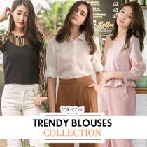 TOKICHOI - Crazy Deals! Trendy Blouses Multi Colors Multi Styles
