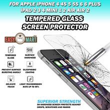 iPad 2 3 4 Mini 1 2 3 Mini 4 Air Air 2 Tempered Glass Screen Protector
