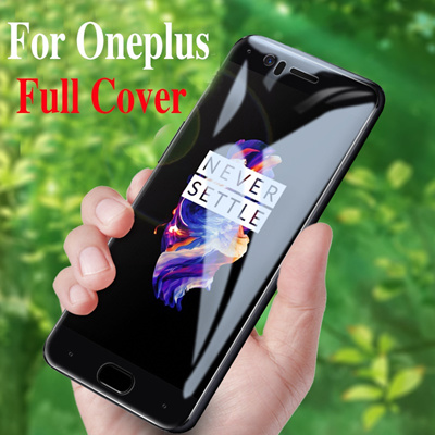 COUPON · Full Cover Glass Oneplus 5T Tempered Glass screen protector Oneplus 5 Protective film Oneplus
