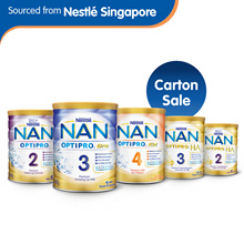 Nestlé NAN OPTIPRO 2 / Gro 3 800g / Kid 4 900g1.8kg / H.A 2 / H.A 3 800g Milk Powder CARTON SALE