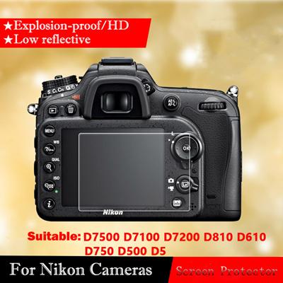 Original Tempered Glass Screen Protector For Nikon D7500 D850 D810 D7100  D7200 D610 D5 D500 Screen
