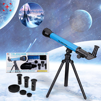 4 Colors 20/40/60 Times 30mm Refractor Astronomical Telescope Eyepieces for  Traveling Hiking with Ad
