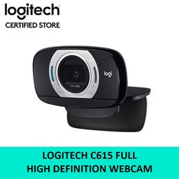 Logitech C615 Full HD Webcam High Definition 2 Years Local Warranty 960-000738