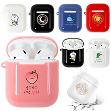 Airpods Korea Desing Hard Case / Hang Case Keyring / Carrying Clip Case / Magnetic Strap / apple