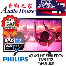 PHILIPS 49PUT5801 49INCH 4K ULTRA HD SLIM LED TV (DIGITAL TV) | 3 YEARS WARRANTY BY PHILIPS