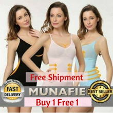 2 in 1 Set Munafie Shapewear Singlet *Free Shipment*