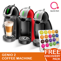 【DOLCE GUSTO®】NDG GENIO COFFEE MACHINE + DISCOVERY PACK