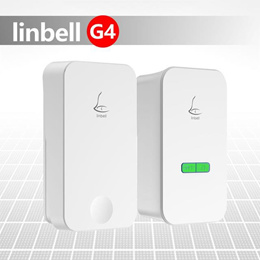Linbell G4 2020 3-Pin SG ver Plug Self-powered Wireless doorbell Distance Up to 80m