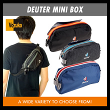 Deuter mini box suitable to use as pencil case in office /wash bag/organizer belt 1 and 2/wallet