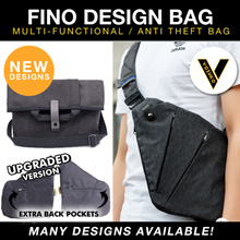 SG SELLER !UPGRADED VERSION  Fino design Bag/cross sling slim/ Multi-Functional Business VOZUKO