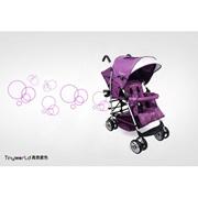 Tiny World Tandem Double Stroller