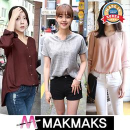 All Flat Price ♣ Korea women fashion Blouse ♣ chiffon/lace/luxury/office/print
