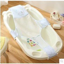 Baby shower frame bed bath bath net bag mesh stent baby cross-shaped bed nets 64146