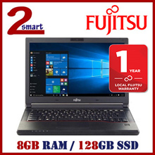 [AS GOOD AS NEW] DEMO REFURBISHED FUJITSU e546 14.1inch Laptop / 128GB SSD / 8GB RAM