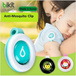 SUPER SPECIAL DEAL!!! - PURCHASED UP TO 50 QTY For Single Shipping fees [MADE IN KOREA] Anti-Mosquito Insect Repellent Clip On for Toddler Kids Adults - Local Seller