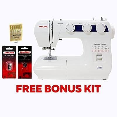 (Janome) Janome 2222 Sewing Machine with Kit-2222