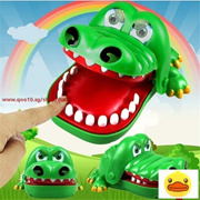 Large Crocodile Mouth Dentist Bite Finger Game Funny Playing Toys