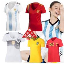 2018 World Cup Spain Brazil Brazil Womens Womens Jersey Portugal Argentina Jersey Women