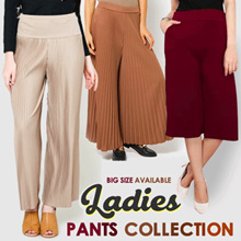 THE CHEAPEST LADIES PANTS - JOGGER COTTON STRETCH - AVAILABLE JUMBO SIZE / SHORT / PREGNANT PANTS