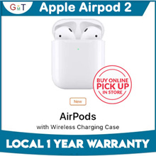 Apple Airpods 2 /Airpods 2 with Wireless charging / Local Set / 1 year warranty / Bluetooth earphone