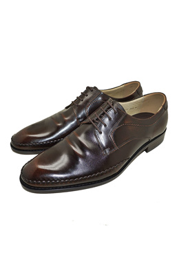 079a144c73313e  Hi Korean Fashion Dark Brown Authentic Cowhide Leather Oxfords Dress Shoes  Genuine Cowhide Leather