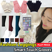 ★Made in Korea★2Type Fall Winter Fashion Collection / Women Fashion Legging / SmartPhone Touch Gloves / Women socks / Touch Screen gloves / Flat Price
