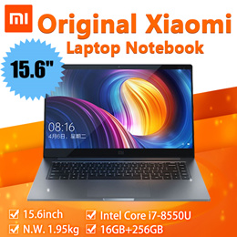 Original Xiaomi Mi Laptop Notebook Pro 15.6inch Intel Core i7-8550U NVIDIA GeForce® MX150 16GB+256GB