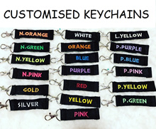 KEYCHAINS [BLACKSTRAP] gift keychain customise customize personalise unique birthday children