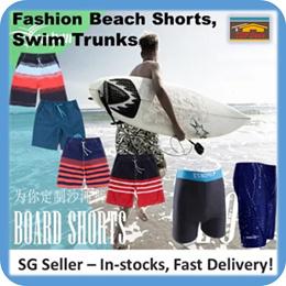 🇸🇬 [Men Swim Trunk] Beach Wear / swim wear / swim suit / swim trunk