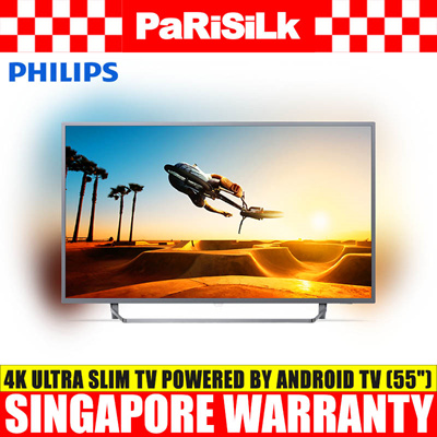 Philips 55PUT7303/98 Ultra Slim 4K UHD LED Android TV (55-inch)