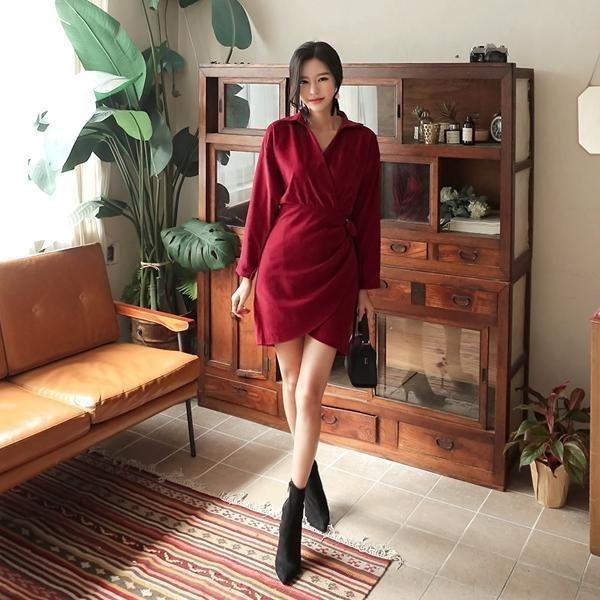 パインディラップワンピースnew ミニワンピース/ワンピース/韓国ファッション