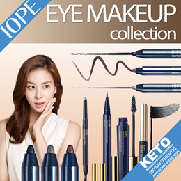 [IOPE]color makeup/perfection mascara/defining eye liner/eye brow auto pencil/drawing gel liner