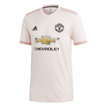 2019 New Season 2018/2019 MANCHESTER UNITED Pink Away Football Jersey For Men