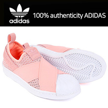 [Adidas]100% authenticity ADIDAS Slip-on shoes/Adidas Courtvantage Slip-on/Adidas Superstar/BB2122