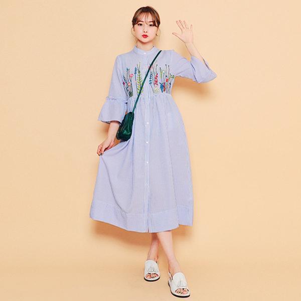 白い嘘ワンピースnew ロング/マキシワンピース/ワンピース/韓国ファッション