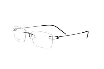 3a4ea3103e 100% Pure Titanium Rimless Prescription Glasses Frame Women Classic  Eyeglasses Myopia Optical