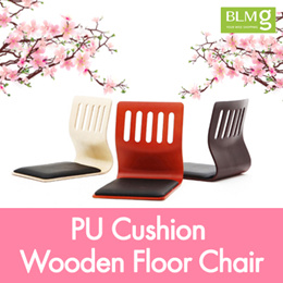 [BLMG_SG] Wooden Floor Chair Series★PU★Stool★Sushi★Christmas★CNY★Chinese New Year★Gift★Present★