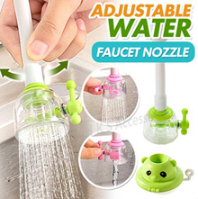 【50% Water Saving Nozzle】Adjustable Water Saving Faucet Nozzle Tap Valve Kitchen Accessories