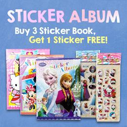 Sticker Album * Sticker * Stickers * Kids * Children * Goody Bag * Album * Birthday * Collection
