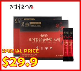 [SPECIAL PRICE] KOREAN RED GINSENG EXTRACT 30EA