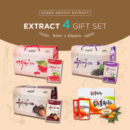 [UISEONG FARM] ★Korea Heath Extract Gift Set ★/ Seed / Onion / Cornus / Garlic